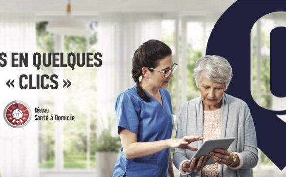Réseau Santé à domicile : unis en quelques « clics »
