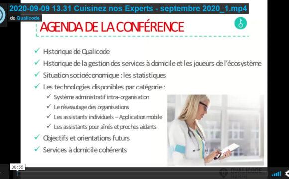 Qualicode - Cuisinez nos experts septembre 2020