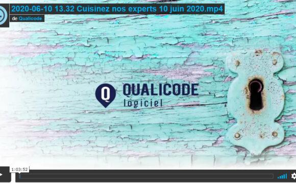 Qualicode cuisinez nos experts juin 2020