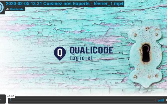 Qualicode Cuisinez nos experts Février 2020